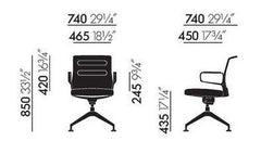 AC 5 Meet Chair task chair Vitra