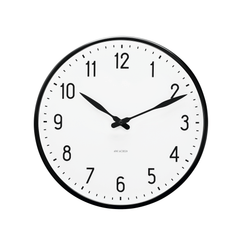 "Station Wall Clock, 19"" Decor Arne Jacobsen"