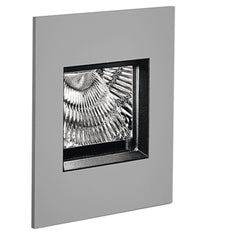 Aria Mini Outdoor Wall Light Outdoors Artemide Grey 6W 3000K >80 CRI