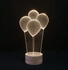 Balloons Led Table Lamp
