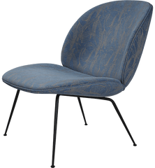 Beetle Lounge Chair with Conic Base