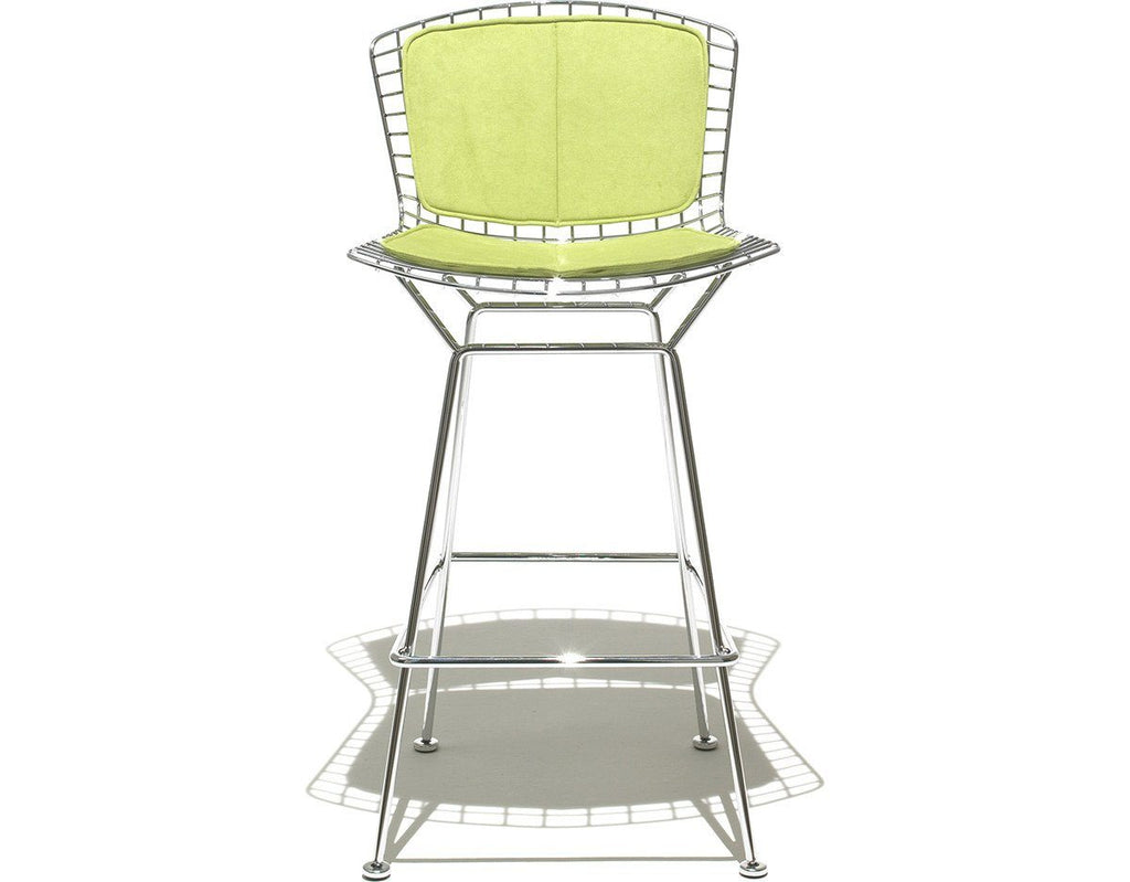 Bertoia Stool With Seat And Back Pad