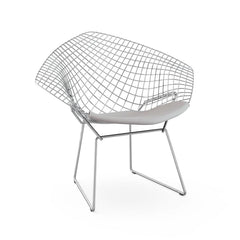 Bertoia Small Diamond Chair with Seat Pad