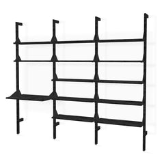 Branch-3 Shelving Unit w/ Desk