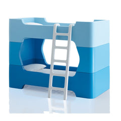 Magis Bunky White Ladder & pair of Intermediate Units