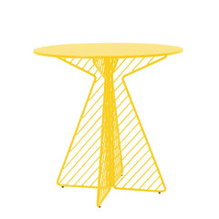 Cafe Table Tables Bend Goods Yellow Round
