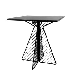 Cafe Table Tables Bend Goods Black Square
