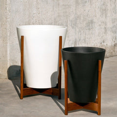 Case Study Ceramic Funnel With Wood Stand Outdoors Modernica