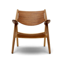 Ch28T Lounge Chair - All Wood