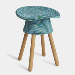 Coiled Stool Stools Umbra Shift Aqua