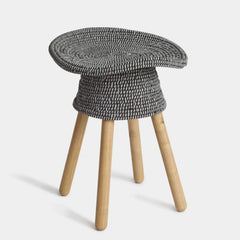 Coiled Stool Stools Umbra Shift Grey