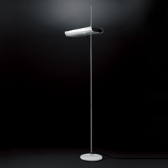 Colombo Floor Lamp Floor Lamps Oluce White