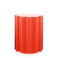 Ettore Sottsass Colonna Stool Stools Kartell Red