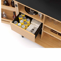 Corridor Compact Home Bar storage BDI