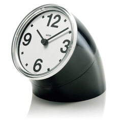 Cronotime Desk Clock Clocks Alessi Black