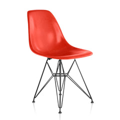Eames Molded Fiberglass Wire Base Side Chair