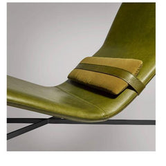 Deep Thoughts Leather Chaise lounge chair BluDot
