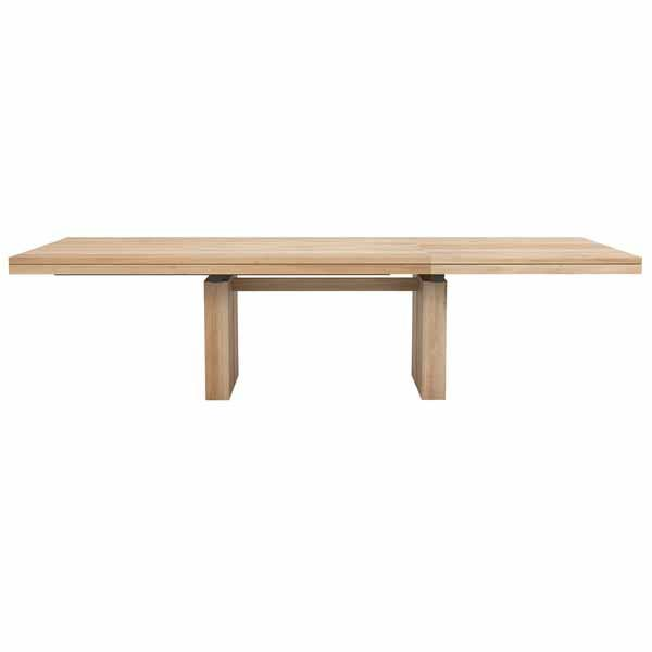 Double Expandable Dining Table
