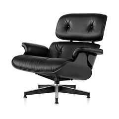 Eames Lounge Chair, Ebony