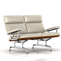 Eames 2-Seat Sofa by Herman Miller Sofa herman miller Walnut Stone MCL Leather + $420.00