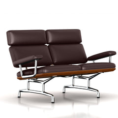 Eames 2-Seat Sofa by Herman Miller Sofa herman miller Walnut Espresso MCL Leather + $420.00