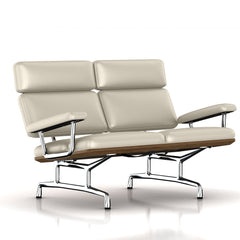 Eames 2-Seat Sofa by Herman Miller Sofa herman miller Teak + $650.00 Stone MCL Leather + $420.00