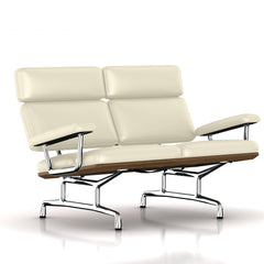 Eames 2-Seat Sofa by Herman Miller Sofa herman miller Teak + $650.00 Ivory MCL Leather + $420.00