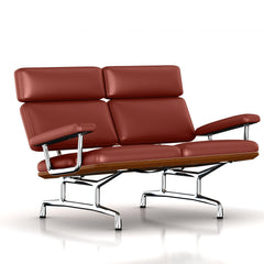 Eames 2-Seat Sofa by Herman Miller Sofa herman miller Walnut Canyon Leather