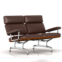 Eames 2-Seat Sofa by Herman Miller Sofa herman miller Walnut Tobacco Leather