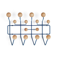 Eames Hang It All Coat Rack Coat Hooks herman miller Dark Blue/Maple +$100.00
