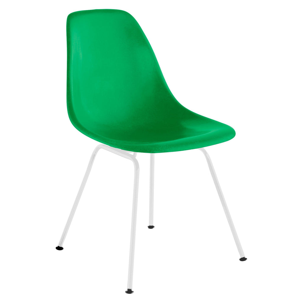 Astounding Eames Molded Fiberglass Side Chair 4 Leg Base Ocoug Best Dining Table And Chair Ideas Images Ocougorg