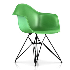 Eames Molded Fiberglass Wire Base Armchair