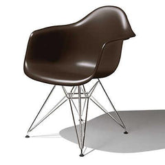 Eames Molded Plastic Arm Chair wire base / DAR