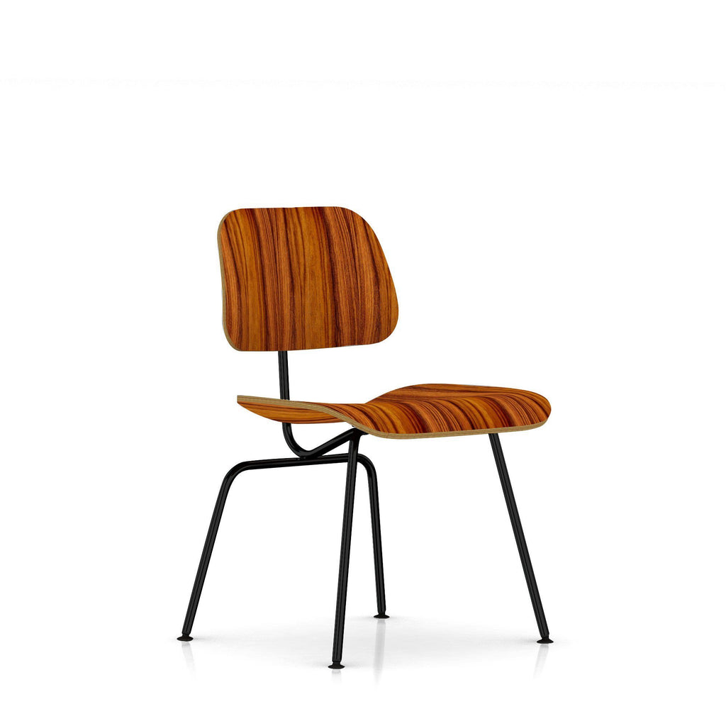 Eames molded plywood dining chair - Eames Molded Plywood Dining Chair Metal Base