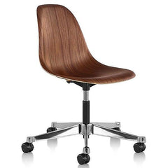 Eames Molded Wood Side Chair With Task Base Side/Dining herman miller