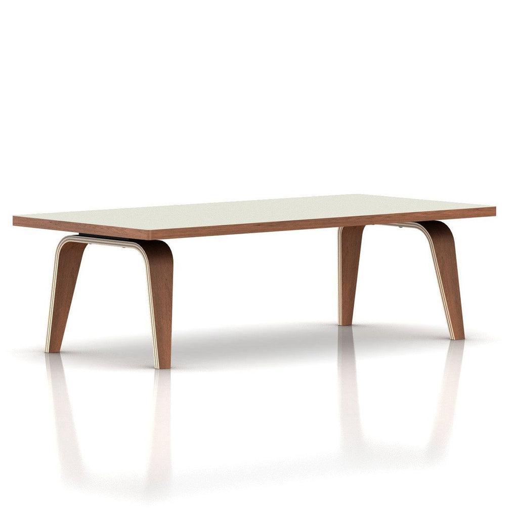 Eames Rectangular Coffee Table / Laminate Top With Veneer Edge