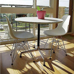 Eames Round Table with Universal Base Dining Tables herman miller