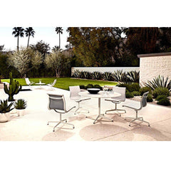 "Eames Table Contract Base Round Outdoor 30"" Dia. Outdoors herman miller"