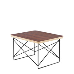 Eames Wire Base Low Table side/end table herman miller Walnut +$95.00 Black