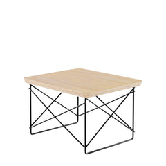 Eames Wire Base Low Table side/end table herman miller White Ash +$95.00 Black