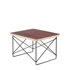 Eames Wire Base Low Table side/end table herman miller Santos Palisander +$209.00 Black