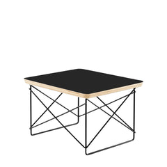 Eames Wire Base Low Table side/end table herman miller Black Black