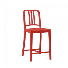 Emeco 111 Navy Counter Stool Stools Emeco RED