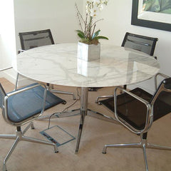 "Florence Knoll 54"" Round Table Dining Tables Knoll"
