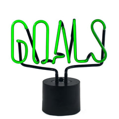 Goals Neon Light