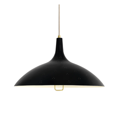 1965 Pendant Pendant Lights Gubi Soft Black