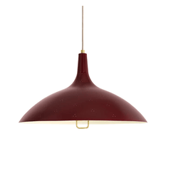 1965 Pendant Pendant Lights Gubi Chianti Red