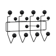 Eames Hang It All Coat Rack Coat Hooks herman miller All Black