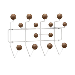 Eames Hang It All Coat Rack Coat Hooks herman miller White Frame - Walnut Spheres +$100.00