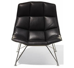 Jehs+Laub Wire Base Lounge Chair